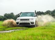 Range Rover Sport Off Road Action