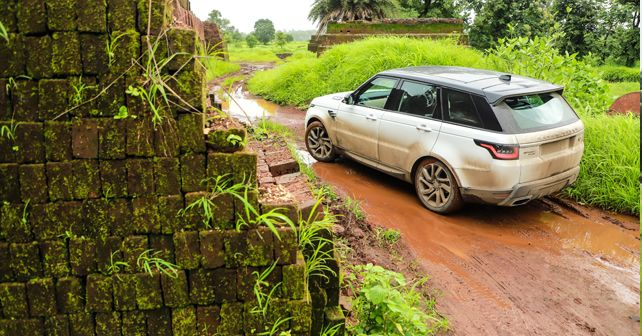 Range Rover Sport Review India Test Drive Rear Static M1