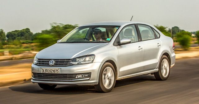 Volkswagen Vento TSI Front Three Quarter S