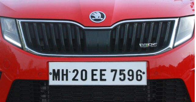 Skoda Octavia Rs First Impressions Grille M