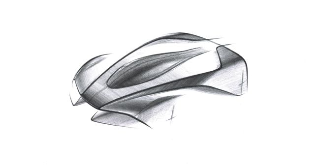 Aston Martin Project 003 Sketch