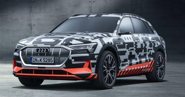 Audi Etron Prototype Camouflage M