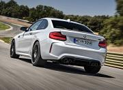 BMW M2 Competition Back Three Quarter