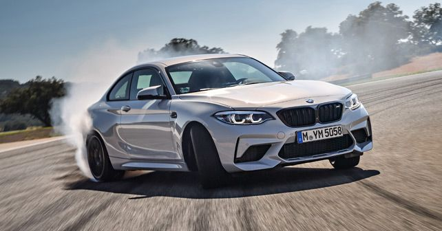 BMW M2 Front Three Quarter Action