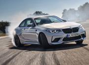 BMW M2 Competition Front Three Quarter Mostion1