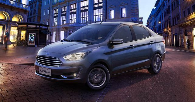 Ford Aspire Face Lift