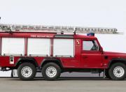 Land Rover defender fire brigade