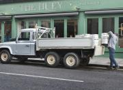 Land Rover defender six wheel pick up truck