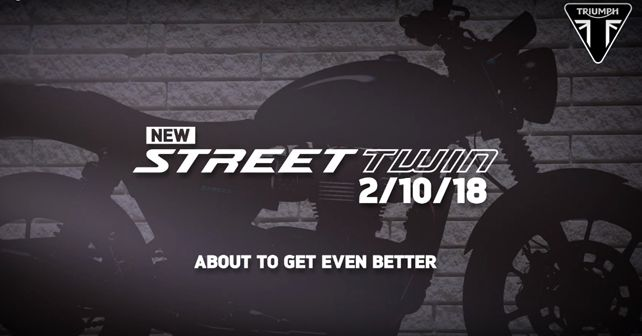 New Triumph Street Twin Teaser