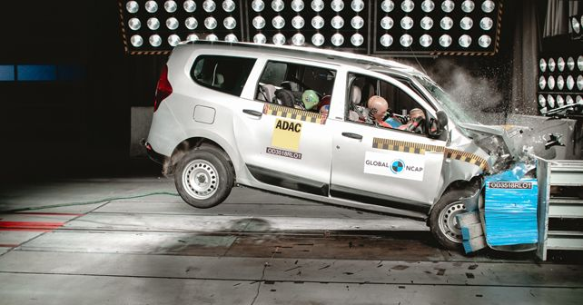 Renault Lodgy Global NCAP crash test