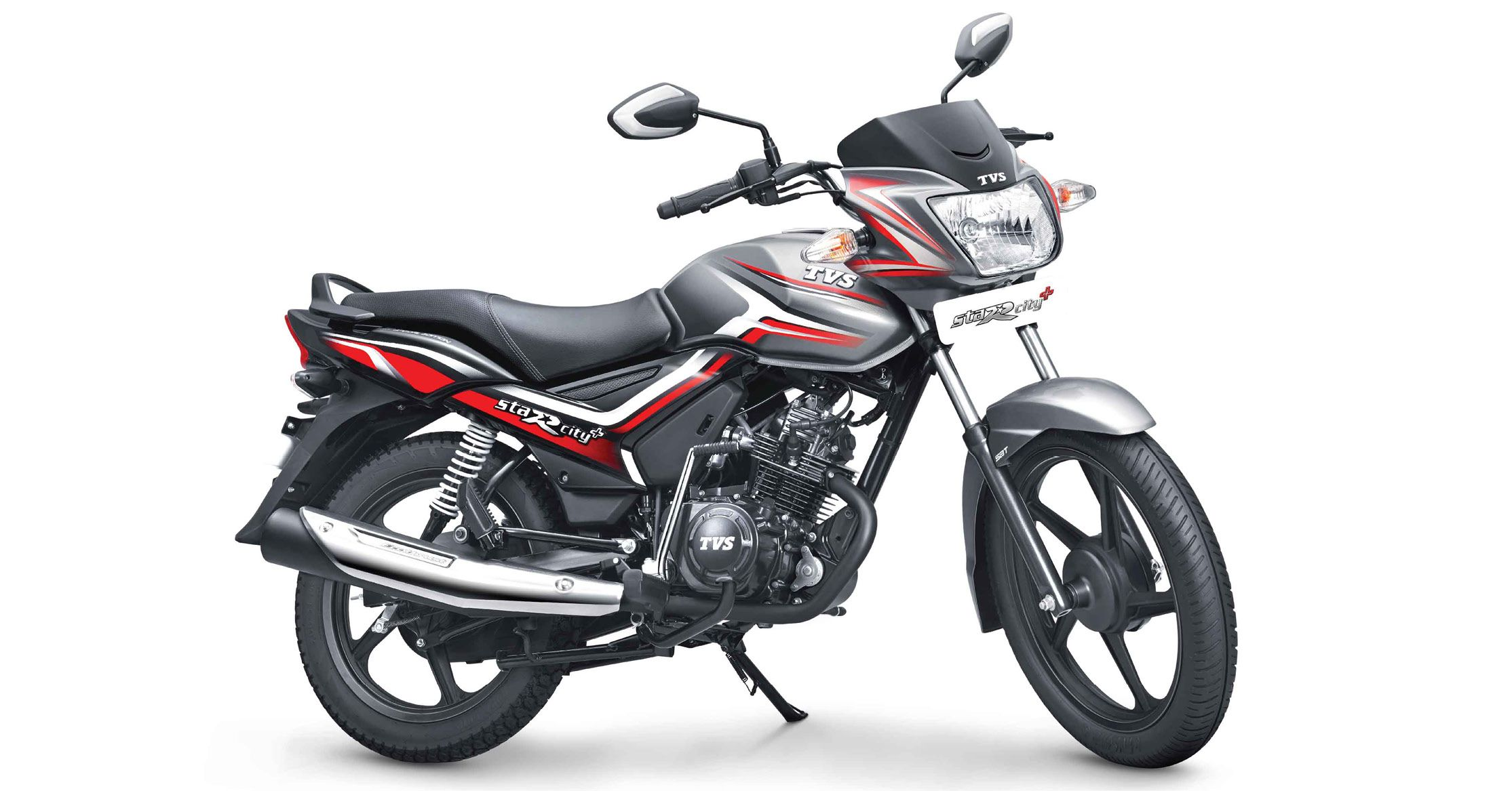 TVS Star City+ new Dual-Tone variant