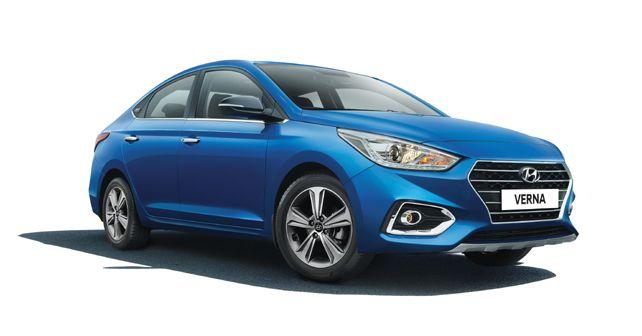 Hyundai Verna Anniversary Edition Front