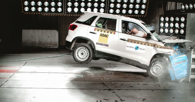 Maruti Suzuki Vitara Brezza GNCAP crash test