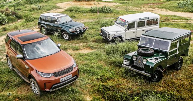 Land Rover 70 Years
