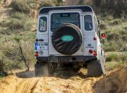 land rover defender india offroading