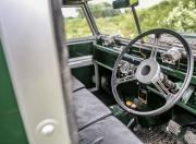 land rover series 1 interior