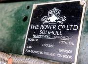 land rover series 1 lubricant recommendation