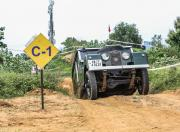 land rover series 1 offroading