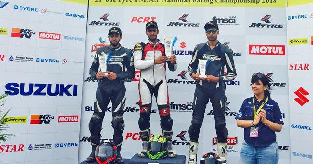 Suzuki Gixxer Cup Winners Day 1 Round 2