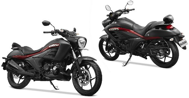 Suzuki0intruder Special Edition Launched India M