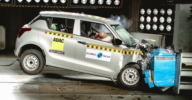 2018 Maruti Suzuki Swift Global NCAP Crash Test