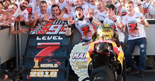 2018 MotoGP Marquez Champion Motegi