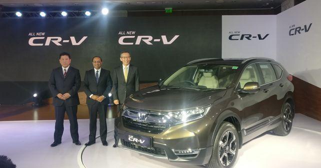 2018 Honda CR-V launch