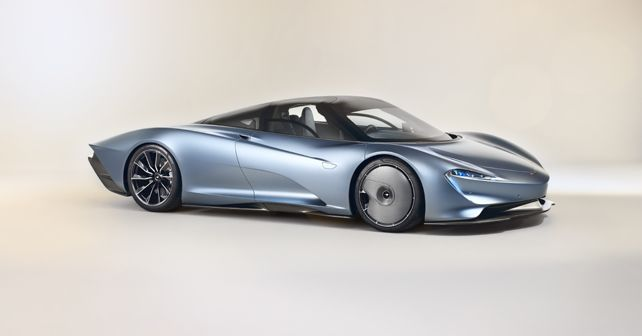 McLaren Speedtail Side View