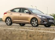 New Hyundai Verna Front Three Quarter