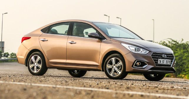 New Hyundai Verna Front Three Quarter Small