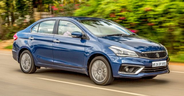 New Maruti Suzuki Ciaz Front Three Quarter Small