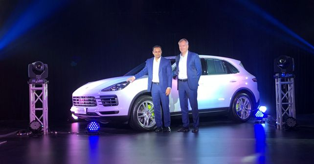 New Porsche Cayenne India Launch