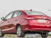 New Toyota Yaris Rear Three Quarter