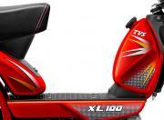 TVS XL 100 Comfort image long seat 2