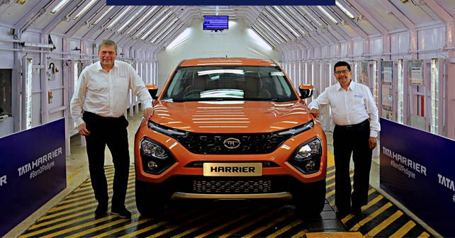 Tata Harrier Production Begins