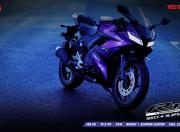 Yamaha YZF R15 V3 gray color 4