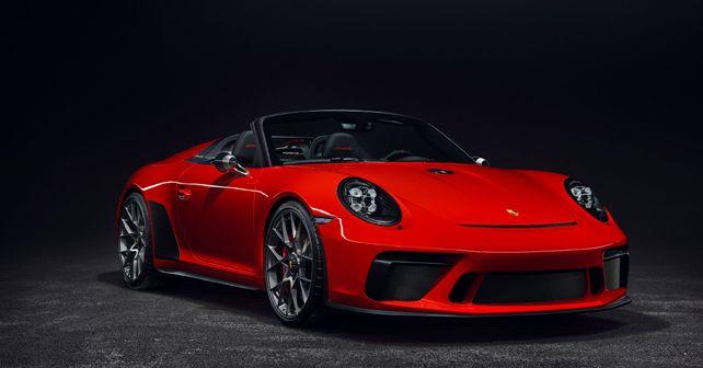 Porsche 911 Speedster Production model