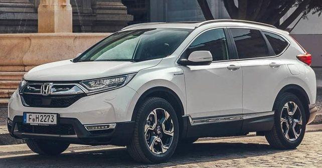 Honda Cr V Hybrid Paris Motor Show