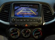hyundai santro rear view camera display