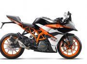 KTM RC 390 Image black with orange