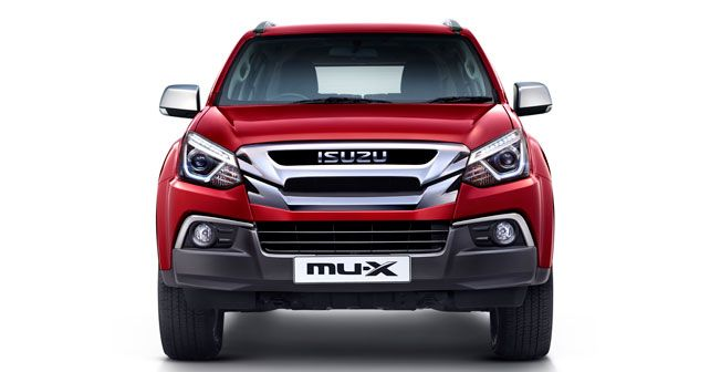 New Isuzu Mux India