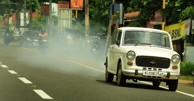 Vehicular pollution in India