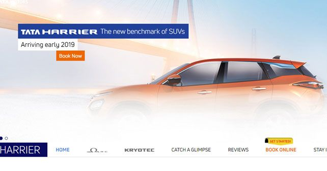 Tata Harrier Bookings