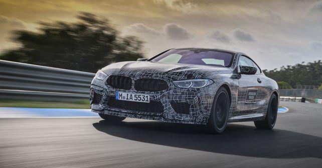 2019 BMW M8 front quarter