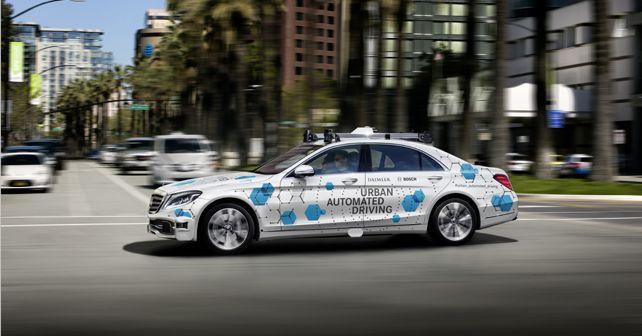Daimler-Bosch automated ride-hailing service