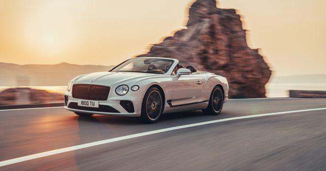 2019 Bentley GTC Front