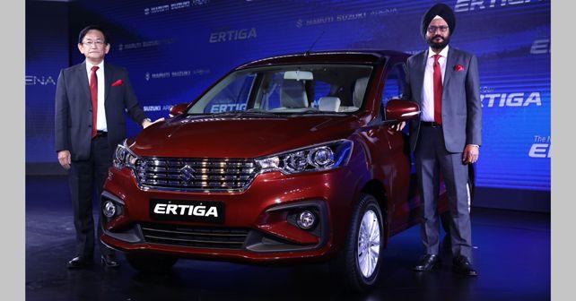 2018 Maruti Suzuki Ertiga launch
