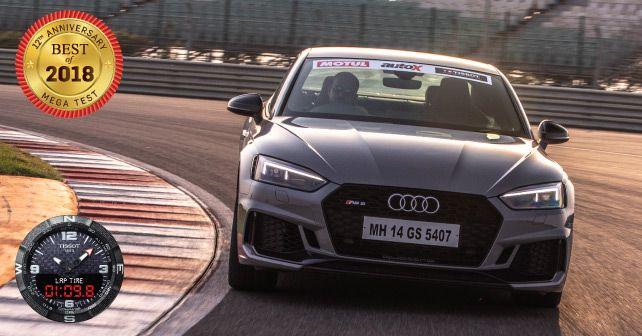 Audi RS 5 Coupe Profile