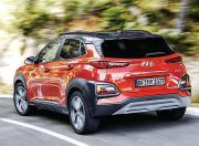 Hyundai Tucson Back Three Quarter Motion
