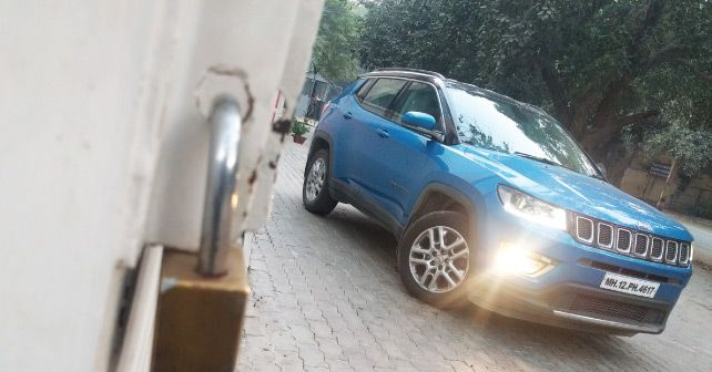 Jeep Compass Front Three Quarter2